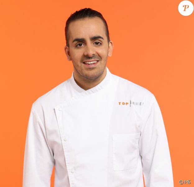 """Franck Pelux (28 ans) - Candidat de """"Top Chef 2017"""" sur M6."""