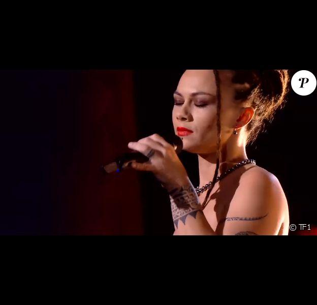 """Rita et Melodie s'affrontent en battles dans """"The Voice"""" - Talents de Amel Bent. Emission du samedi 7 mars 2020, TF1"""