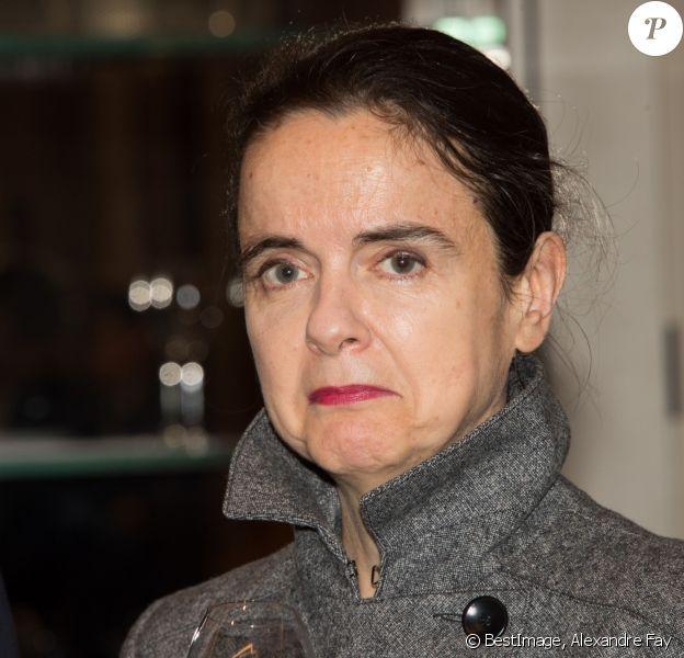 Amélie Nothomb - Remise du Prix Décembre 2018 à Michaël Ferrier à l'hôtel Le Lutétia à Paris. Le 8 novembre 2018 © Alexandre Fay / PixPlanete / Bestimage