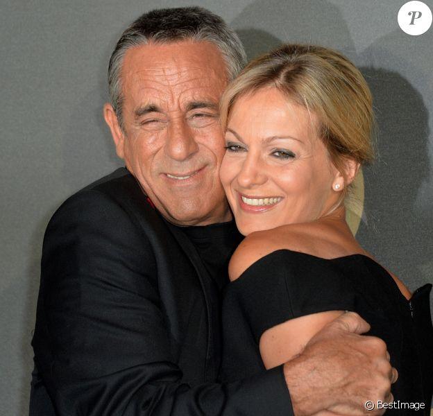 Thierry Ardisson et sa femme Audrey Crespo-Mara - Soirée des 30 ans de Canal + au Palais de Tokyo à Paris le 4 novembre 2014.