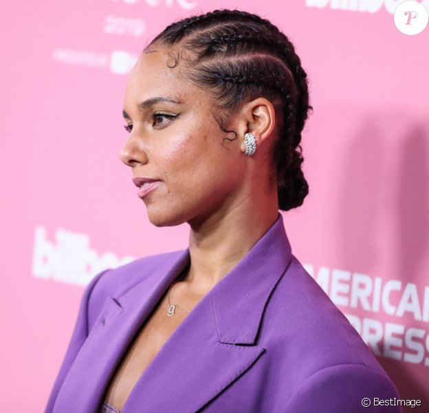 Alicia Keys - Photocall Billboard Women In Music 2019 à Los Angeles, le 12 décembre 2019.