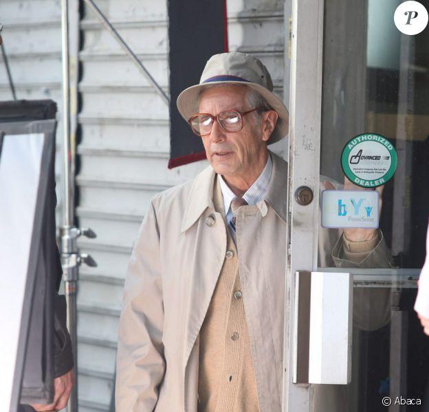 Al Pacino sur le tournage de You don't know Jack de Barry Levinson le 18 août 209à à New York