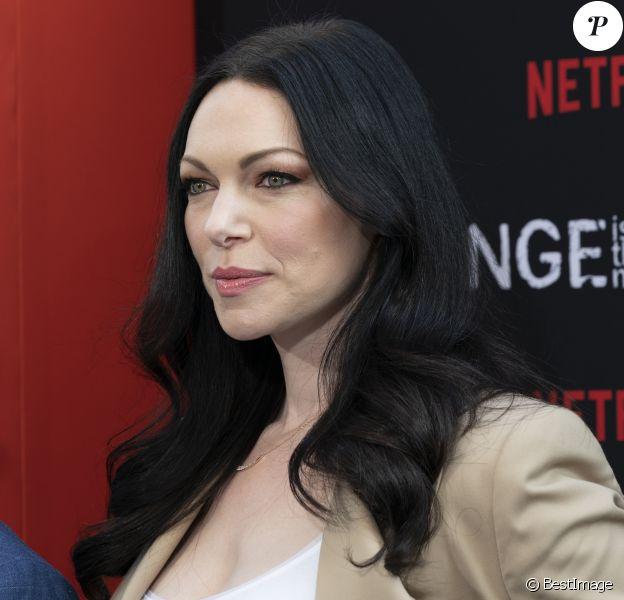 Laura Prepon - Les célébrités assistent à l'avant-première de la saison 7 de 'Orange Is The New Black' à New York, le 25 juillet 2019.