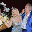 Monica Bacardi fête son anniversaire, tout comme Massimo Gargia, au Stefano Forever, à Saint-Tropez. 20/08/09