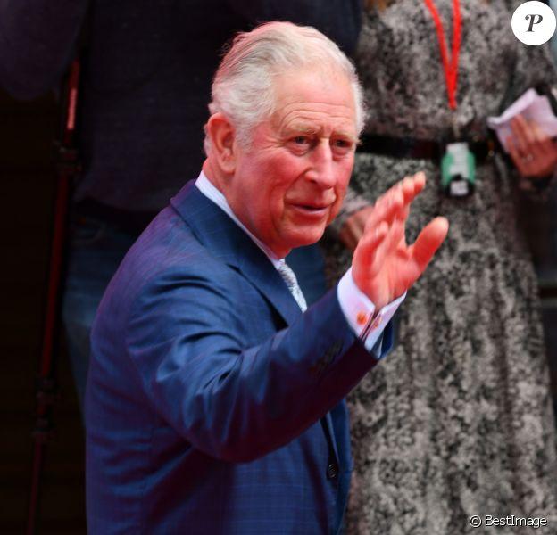 """Le prince Charles - Arrivées sur le red carpet de la soirée """"Prince's Trust Awards"""" au Palladium à Londres. Le 11 mars 2020"""