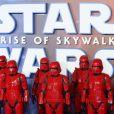"""L'avant-première du film """"Star Wars : L'ascension de Skywalker"""" à Londres, le 18 décembre 2019."""