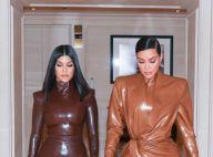 """Kim Kardashian : """"En sang"""" après sa bagarre avec Kourtney, elle raconte"""