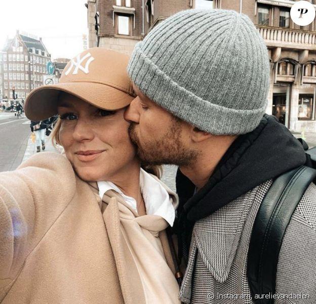 Aurélie Van Daelen et son compagnon, Nicolas - Instagram, 14 février 2020