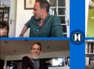 Nikos Aliagas en live sur Facebook : son fils Andreas débarque à l'improviste