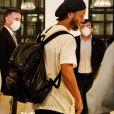 Ronaldinho a été libéré de prison le 7 avril 2020, après un mois d'incarcération, et est assigné à résidence à l 'hôtel d'Asuncion, au Paraguay . EFE / Nathalia Aguilar