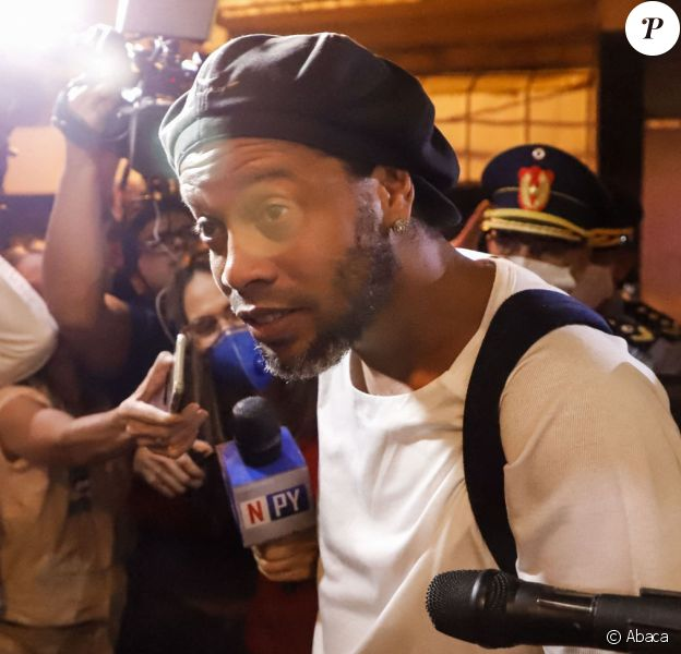 Ronaldinho a été libéré de prison le 7 avril 2020, après un mois d'incarcération, et est assigné à résidence à l'hôtel d'Asuncion, au Paraguay. EFE / Nathalia Aguilar