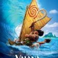 """Affiche française du film """"Vaiana""""."""