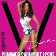 Daria Werbowy en couverture de  V Magazine  !