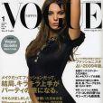 Daria Werbowy en couverture de  Vogue  !