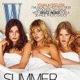 Daria Werbowy en couverture de  W  !