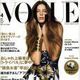 La belle Daria Werbowy en couverture de  Vogue  !