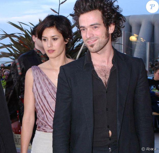 Amira Casar, Olivia Bonamy et Romain Duris lors du Festival du film de Cabourg le 15 juin 2002. © Jean-Jacques Datchary/ABACA