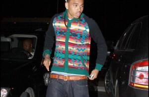 Chris Brown version premier de la classe, euuuuh... on n'aime pas ! Mais pas du tout !
