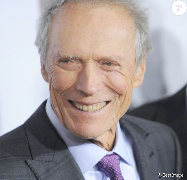 """Clint Eastwood à la première du film """"American Sniper"""" à New York, le 15 décembre 2014"""