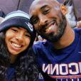 Kobe Bryant avec sa fille Gianna, le 3 mars 2019.