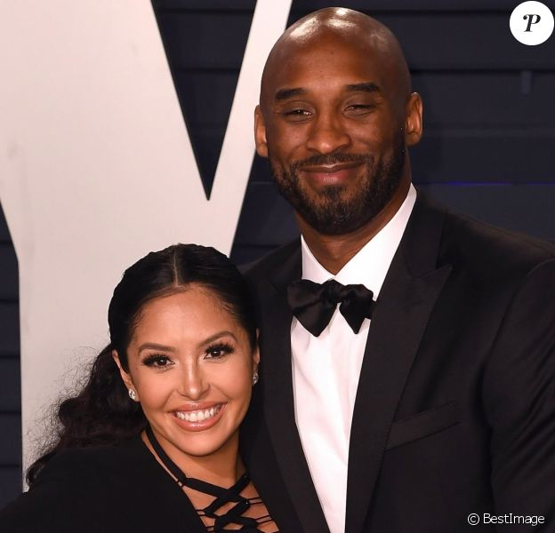 Kobe Bryant et sa femme Vanessa -