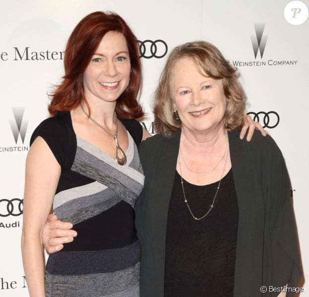 "Cindy Guyer, Shirley Knight - Première du film ""The Master"" à New York. Le 11 septembre 2012."