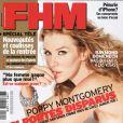 Poppy Montgomery en couverture de FHM