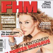 """La belle et sexy Poppy Montgomery est une coquine : """"Je veux boire du vin et fumer une cigarette en roulant dans Paris"""" !"""