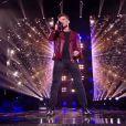 """Hakob lors de l'épreuve des K.O dans """"The Voice 2020"""" - Talent de Pascal Obispo. Émission du samedi 25 avril 2020, TF1"""