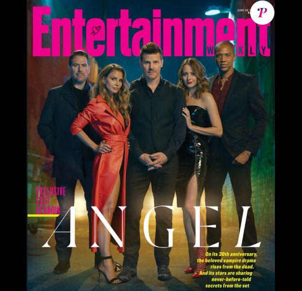 Les acteurs d'Angel fête les 20 ans de la série pour Entertainment Weekly. Juin 2019