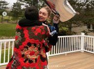 Gigi Hadid : Émue pour son anniversaire, avec son chéri Zayn Malik