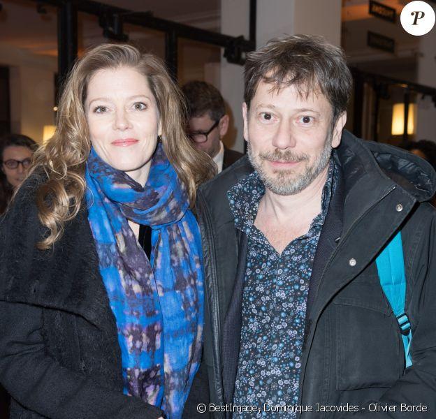 Mathieu Amalric et sa compagne Barbara Hannigan - Arrivées lors de la 43ème cérémonie des Cesar à la salle Pleyel à Paris, le 2 mars 2018. © Dominique Jacovides - Olivier Borde / Bestimage