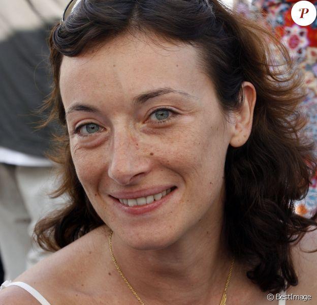"""Archives - Delphine Serina lors du Festival """"Les Hérault de la Télé 2009"""" au Cap d'Agde, le 26 octobre 2009.26/10/2009 - Le Cap d'Agde"""