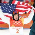 L'américain Shaun White obtient une médaille d'or en snowboard halfpipe lors des jeux olympiques d'hiver 2018 de PyeongChang le 14 février 2018. © Scott Mc Kiernan via ZUMA Wire / Bestimage
