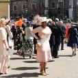 Oprah Winfreyau mariage du prince Harry et de Meghan Markle au château de Windsor, le 19 mai 2018.