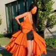 La créatrice de mode Vera Wang, confinée à son domicile. Mai 2020.
