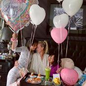 Laeticia Hallyday : Déhanché sensuel avec Joy pour la fête des Mères