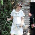 lors de la baby-shower d'Ellen Pompeo, organisée par sa copine Katherine Heigl