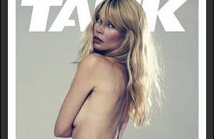 Claudia Schiffer topless et bas des reins apparent : elle n'a jamais été aussi sublime !