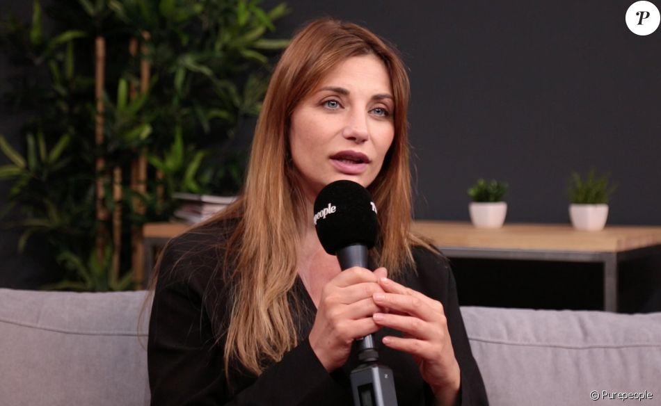 """Ariane Brodier en interview pour """"Purepeople.com"""". Juin 2019."""