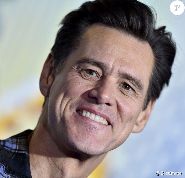 """Jim Carrey à la première du film """"Sonic the Hedgehog"""" à Los Angeles, le 12 février 2020."""