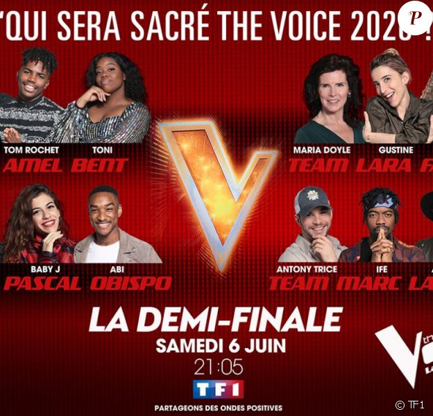 """""""The Voice 2020"""" de retour le 6 juin, sur TF1"""