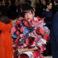 Rihanna en robe Comme des Garçons, au Met Gala 2017.