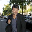 Stéphane Plaza (Maison à vendre) à la conférence de presse de M6 pour la rentrée 2009