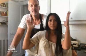 Tous en cuisine : Anggun, fière et amoureuse, fait rougir son mari Christian