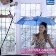 Ariana Grande et son petit ami Dalton Gomez apparaîssent dans une vidéo promo de Lady Gaga, pour son nouveau single intitulé Rain On Me. Mai 2020.