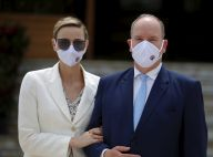 Charlene de Monaco : Rare apparition masquée avec le prince Albert