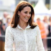 Kate Middleton : Joli top et boucles d'oreilles à 5 euros, la duchesse recycle