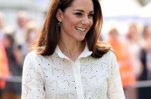 Kate Middleton : Joli top et boucles d'oreilles à 5 euros, la duchesse recycle
