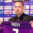Franck Ribéry a signé à la Fiorentina, en Italie, en août 2019.